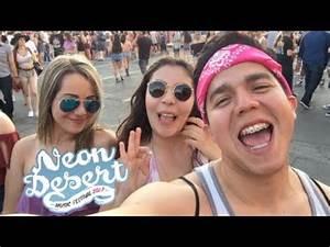 NEON DESERT MUSIC FESTIVAL 2017 Edgar Ramirez