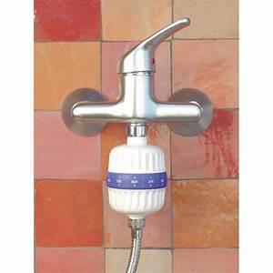 Filtre à Eau Pour Douche : recharge filtre de douche boule chlore hydropure acheter ~ Edinachiropracticcenter.com Idées de Décoration