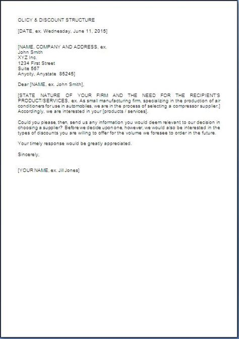 request  price quotation letter sample