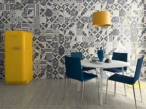 Carreaux De Ciment Adhesif Sol : carrelage imitation anciens carreaux de ciment d cor ~ Premium-room.com Idées de Décoration
