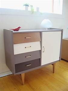 Commode Style Scandinave : commode ann es 50 style scandinave photo de commodes 123soleildko ~ Teatrodelosmanantiales.com Idées de Décoration