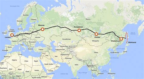 New Trans-siberian Rail Link Would Mean Passengers Could