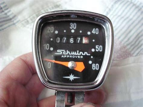 Schwinn vintage bicycle speedometer head nice condition