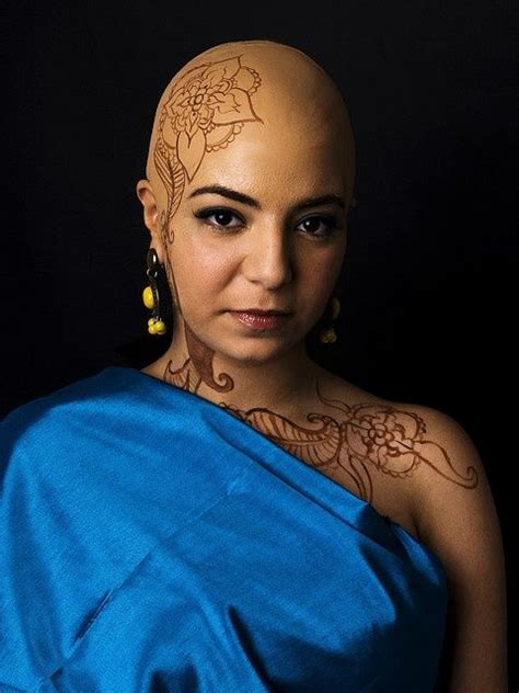 henna  bald pate hennas makeup  bald women