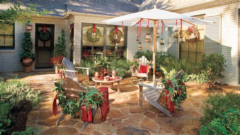 dont forget outdoor furniture  fresh christmas