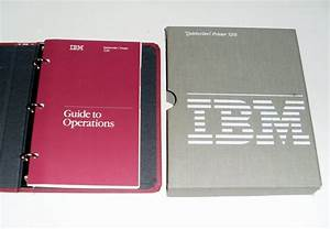 Vintage Ibm Quietwriter Printer Guide To Operations