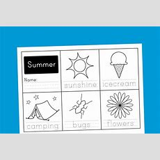 Worksheet Wednesday Summer Handwriting  Paging Supermom
