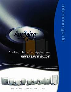 Download Free Pdf For Aprilaire 800 Humidifier Manual