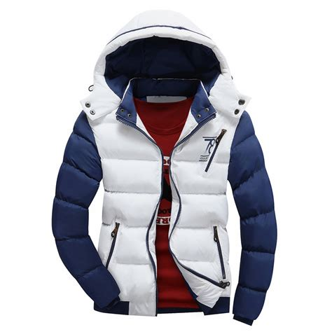 brand winter jacket men warm  jacket casual