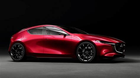 Mazda Kai Concept Previews The Nextgen Mazda3 The