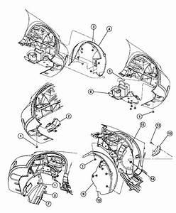 Dodge Ram 2500 Shield  Wheelhouse  Right