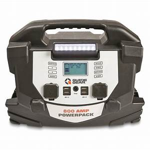 Guide Gear 800 Amp Jump Starter And Portable Powerpack
