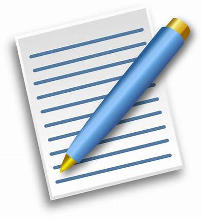 Pen Paper Clip Clipart Clker Write Vector