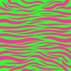 Neon Zebra Print Backgrounds