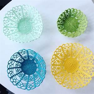 Corbeille Au Crochet : des corbeilles au crochet vous avez dit ringard le blog de caro tricote ~ Preciouscoupons.com Idées de Décoration