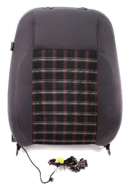 rh front sport plaid seat  rest air bag   vw