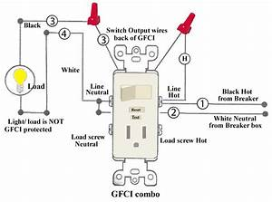 How To Wire A Switched Outlet Diagram