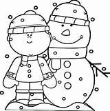 Coloring Snow Winter Plow Snowman Snowmen Printable Abominable Night Child Boy Getcolorings Clipart Rocks Getdrawings Wecoloringpage Kaynak Mesmerizing Colorings sketch template