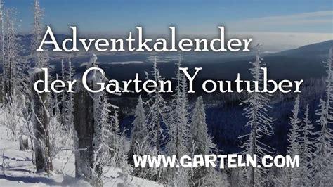 Der Garten Trailer adventkalender der garten der trailer