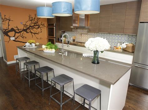 white kitchen island breakfast bar kitchen island breakfast bar pictures ideas from hgtv 1819