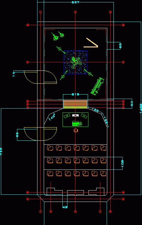 recording studio dwg block  autocad designs cad