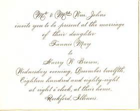 wedding invites wording wedding invitation wording marriage anniversary invitation letter sle