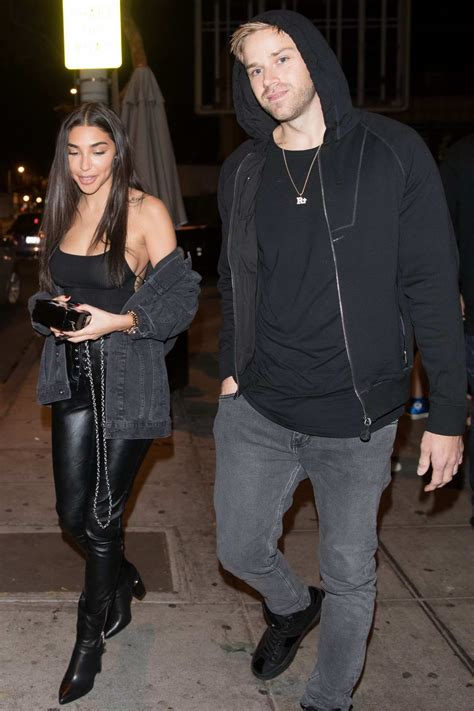 Chantel Jeffries spotted while leaving Delilah with a ...
