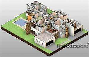 Net House Plans South Africa - 4 Bedrooms Home Design ...