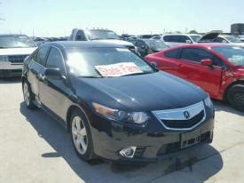 salvage acura tsx cars  sale  auction