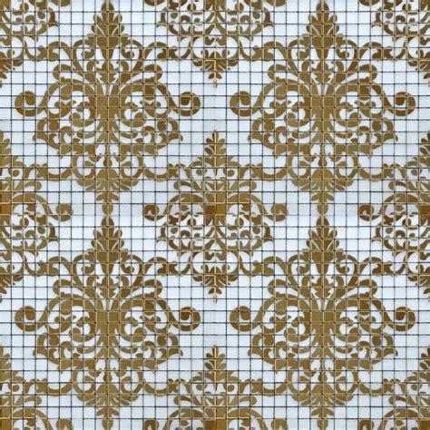 Copper Kitchen Backsplash Ideas - crystal glass tile gold mosaic collages design interior wall tile murals bathroom decoration