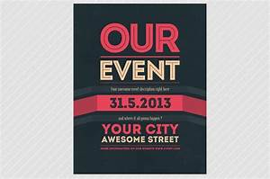 Our Event Flyer Psd Template By Martz90 Shop On Creative Market