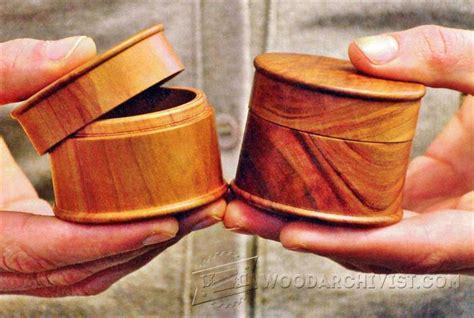 woodturning box woodarchivist