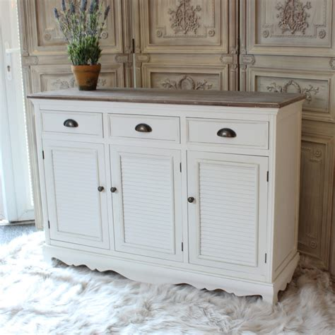 White Sideboard Cabinet large white sideboard cabinet melody maison 174