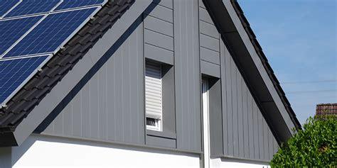 Fassadenverkleidung Farbe Und Schutz Fuer Das Haus by Fassadenverkleidung Wertsteigerung Wetterschutz Und