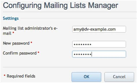 list of email addresses and passwords create a mailing list in plesk media temple