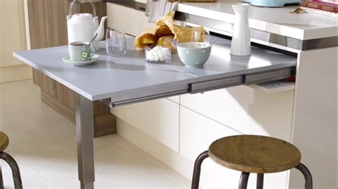 Cuisine Avec Table De Bar Table De Bar Cuisine Table A Manger Somum