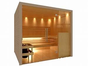 Sauna Mit Glasfront : c quel royal sauna mit edler glasfront ~ Orissabook.com Haus und Dekorationen