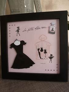 Petite Robe Noire : la petite robe noire de guerlain carte 3d format 20x20 mise sous cadre punto cruz vestidos y ~ Maxctalentgroup.com Avis de Voitures
