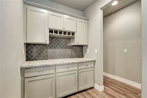 Light Grey Peel And Stick Tile Gorgeous Built In Butlery Painted Sherwin Williamsdorian