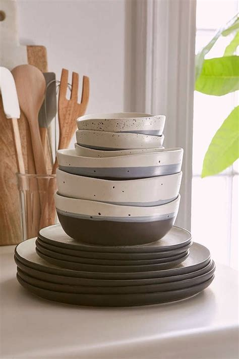 stoneware dinnerware sets dishes affordable mikasa dining accessories dishware match mix dish popsugar australia room fascinating shares piece