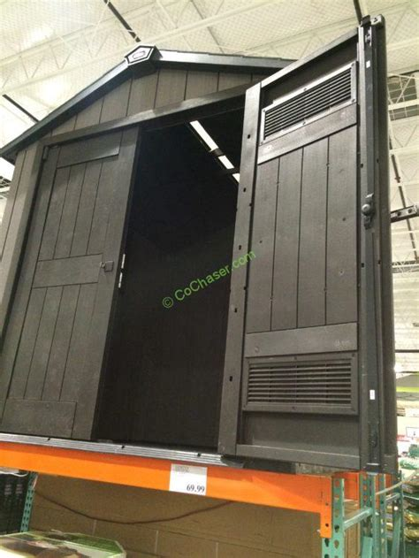 Keter 7.5? X 7? Resin Outdoor Storage Shed ? CostcoChaser