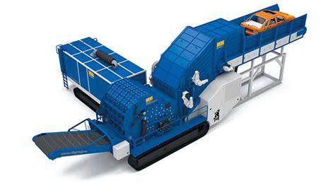 Blue Group  Metal Shredders