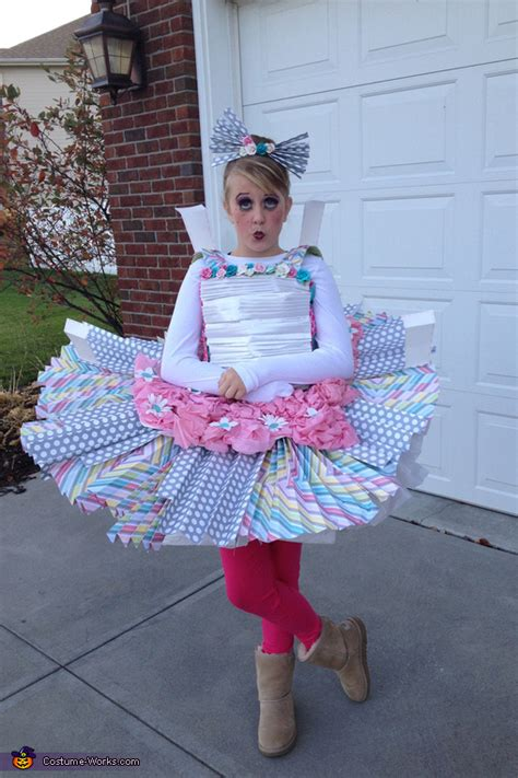creative diy paper doll costume