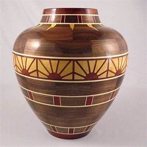 SEGMENTED WOODTURNING is precision work — so he got a