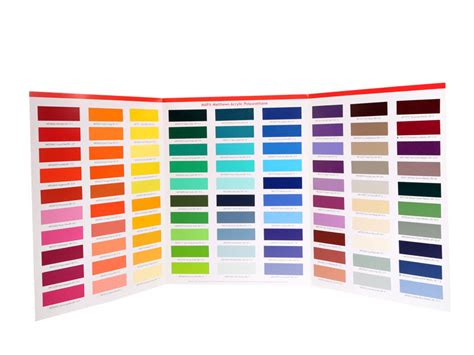 outdoor paint color swatch order form