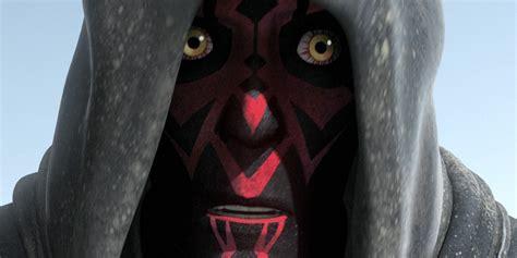 Darth Maul Is More Tragic Than Darth Vader