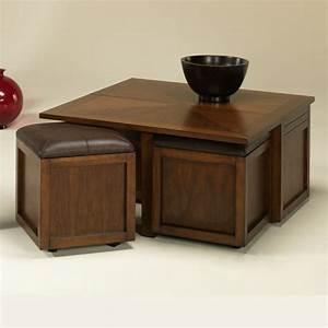 Petit Tabouret Bois : la table basse avec pouf pour un style de vie moderne ~ Teatrodelosmanantiales.com Idées de Décoration