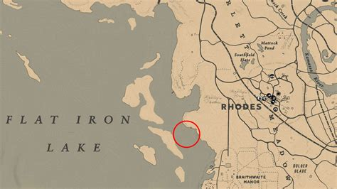 legendary fish locations  red dead redemption
