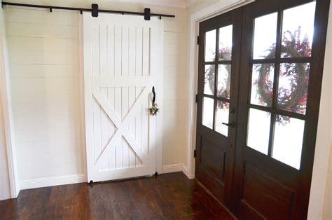How to Hang a Barn Door!  Beneath My Heart