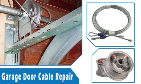 how to fix a garage door cable how to repair garage door cable garage door cable repair